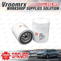 10 Sakura Oil Filter for Dyna FC22 LH80 LH85 LY151 201 211 220 LY50 60 61 LY