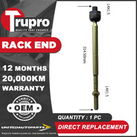 1 Pc Trupro Rack End for TOYOTA COROLLA AE80 AE81 AE82 SECA SPRINTER 9/84-12/88