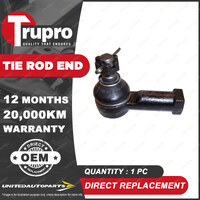 1 Pc Trupro LH Outer Tie Rod End for HOLDEN Barina MB L F MH 1985-2019
