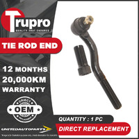 1 Pc Trupro RH Outer Tie Rod End for HOLDEN Barina MB ML MF MH 1985-2019