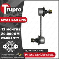 1 Pc Trupro Rear Sway Bar Link for Toyota Corolla AE95 1.6L 04/1988-07/1995